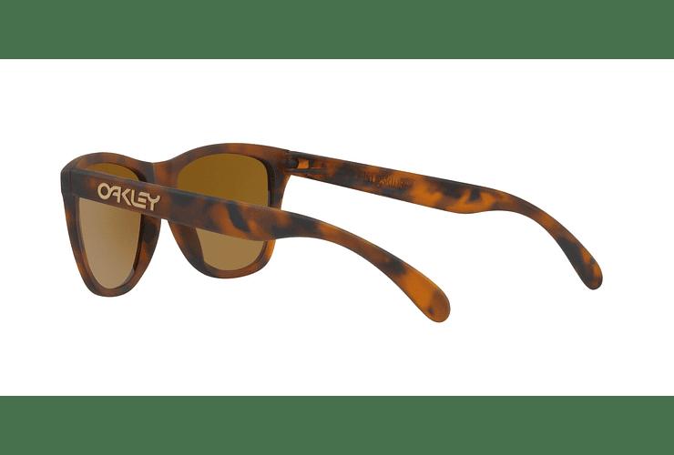 Oakley Frogskins Matte Tortoise lente Tungsten PRIZM cod. OO9013-C555 - Image 4