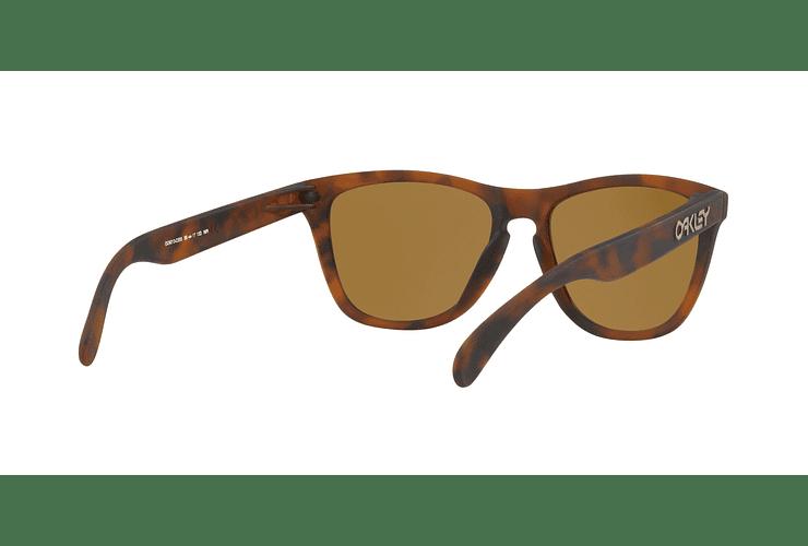 Oakley Frogskins Matte Tortoise lente Tungsten PRIZM cod. OO9013-C555 - Image 7