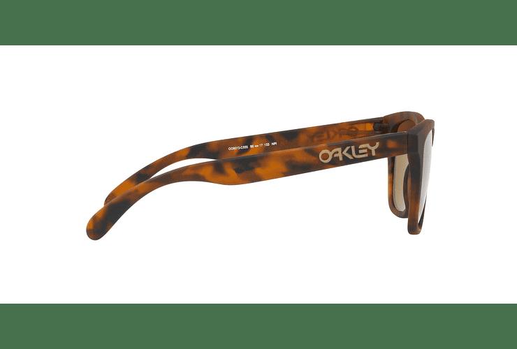 Oakley Frogskins Matte Tortoise lente Tungsten PRIZM cod. OO9013-C555 - Image 9