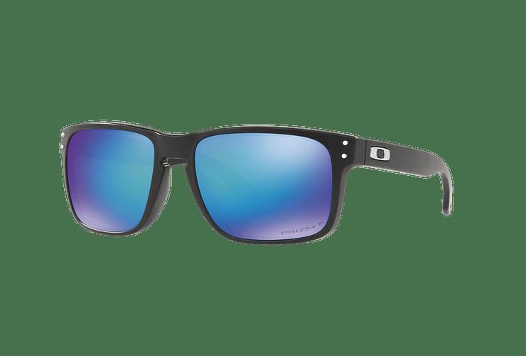Oakley Holbrook Matte Black lente Sapphire Prizm y Polarized cod. OO9102-F055 - Image 1