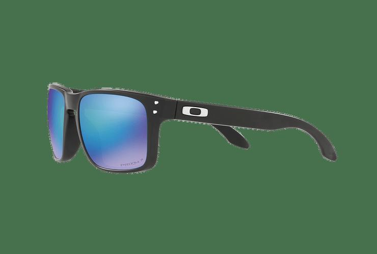 Oakley Holbrook Matte Black lente Sapphire Prizm y Polarized cod. OO9102-F055 - Image 2