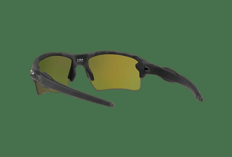 Oakley Flak 2.0 XL Black Camo lente Ruby PRIZM cod. OO9188-8659 - Image 5