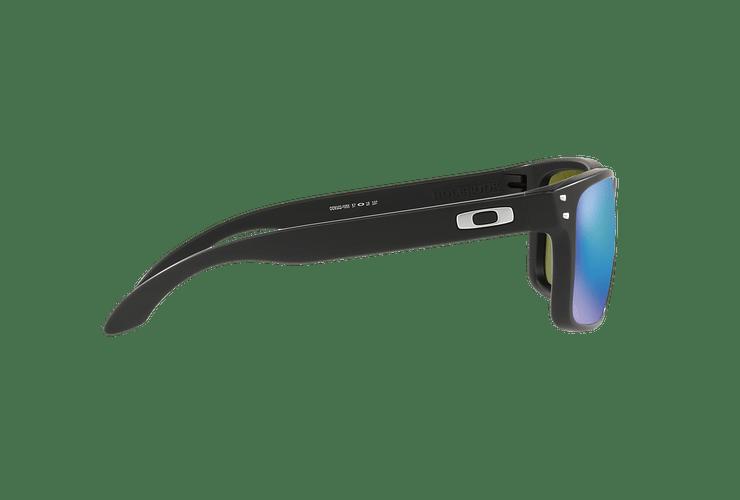 Oakley Holbrook Matte Black lente Sapphire Prizm y Polarized cod. OO9102-F055 - Image 9