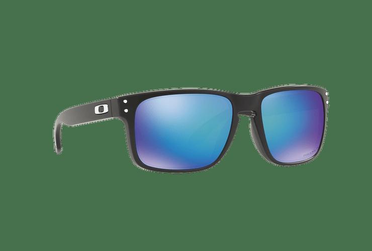 Oakley Holbrook Matte Black lente Sapphire Prizm y Polarized cod. OO9102-F055 - Image 11