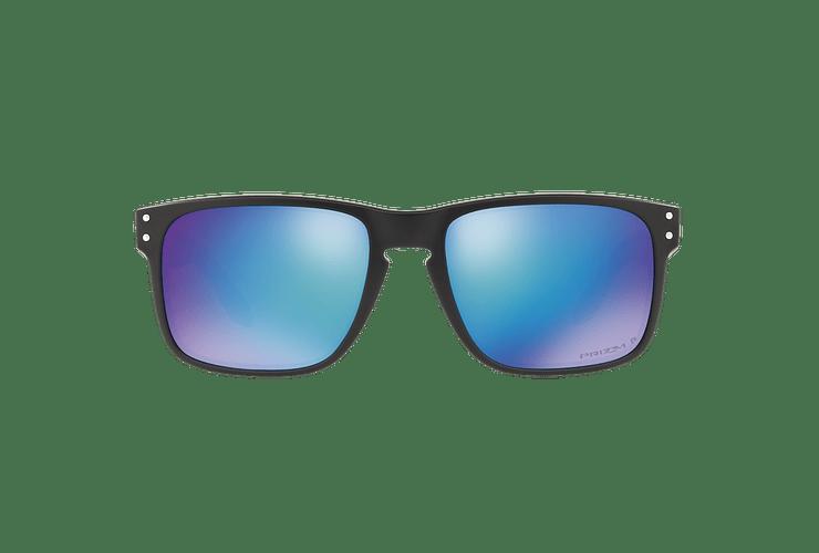 Oakley Holbrook Matte Black lente Sapphire Prizm y Polarized cod. OO9102-F055 - Image 12