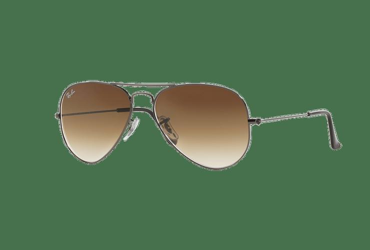 Ray Ban Aviador Gunmetal lente Crystal Brown Gradient cod. RB3025 004/51 58 Desc25% - Image 1