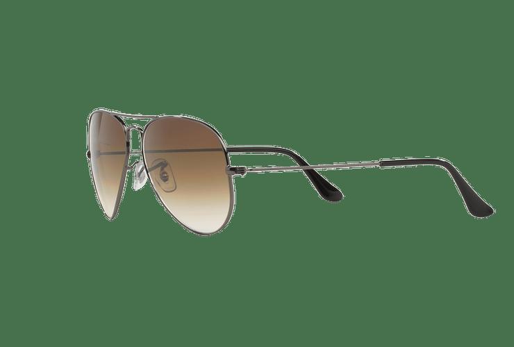 Ray Ban Aviador Gunmetal lente Crystal Brown Gradient cod. RB3025 004/51 58 Desc25% - Image 2