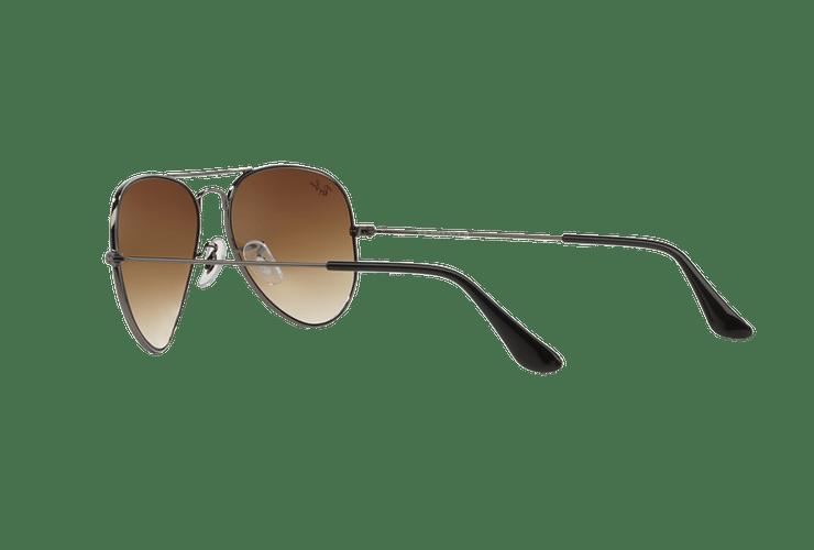 Ray Ban Aviador Gunmetal lente Crystal Brown Gradient cod. RB3025 004/51 58 Desc25% - Image 4