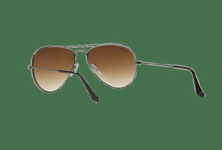 Ray Ban Aviador Gunmetal lente Crystal Brown Gradient cod. RB3025 004/51 58 Desc25% - Image 5