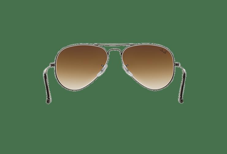Ray Ban Aviador Gunmetal lente Crystal Brown Gradient cod. RB3025 004/51 58 Desc25% - Image 6