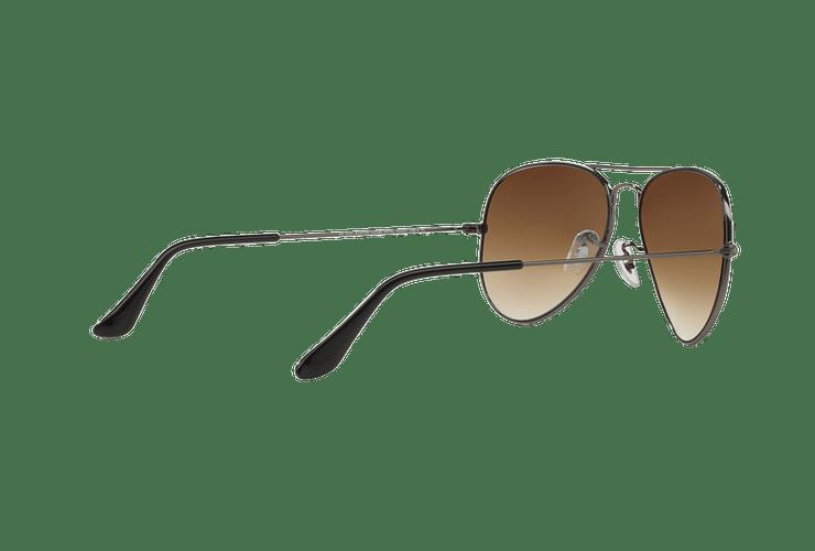 Ray Ban Aviador Gunmetal lente Crystal Brown Gradient cod. RB3025 004/51 58 Desc25% - Image 8