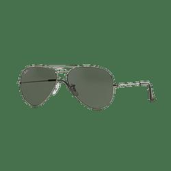 Ray Ban Aviador Gunmetal lente Green / Grey cod. RB3025 W0879 58