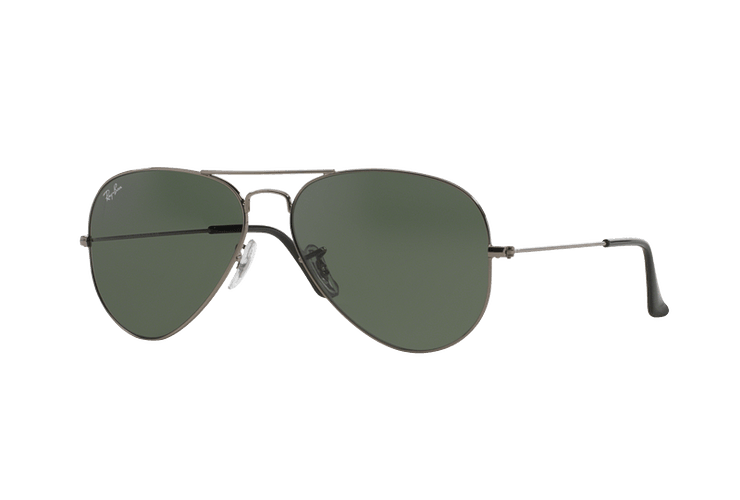 Ray Ban Aviador Gunmetal lente Green / Grey cod. RB3025 W0879 58 - Image 1