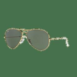 Ray Ban Aviador Gold lente Crystal Green cod. RB3026 L2846 62
