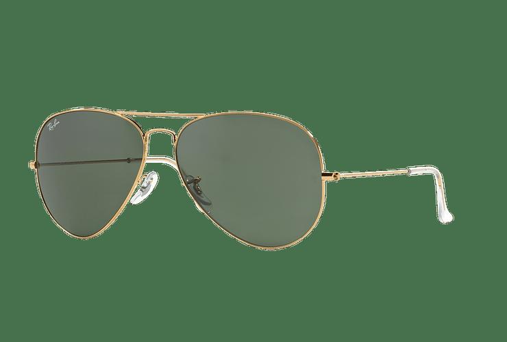 Ray Ban Aviador Gold lente Crystal Green cod. RB3026 L2846 62 - Image 1