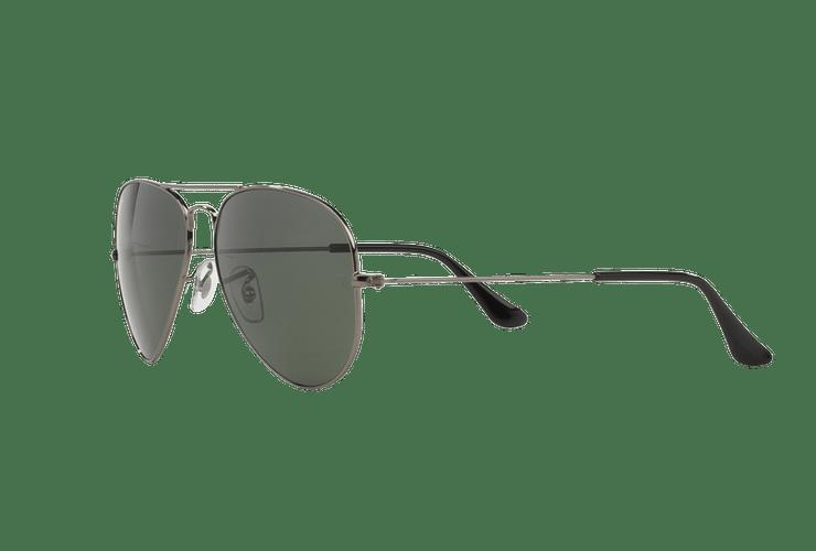 Ray Ban Aviador Gunmetal lente Green / Grey cod. RB3025 W0879 58 - Image 2