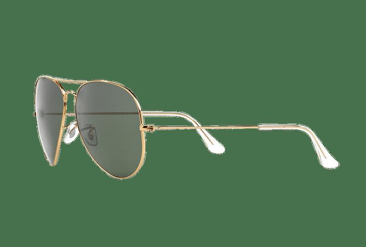 Ray Ban Aviador Gold lente Crystal Green cod. RB3026 L2846 62 - Image 2