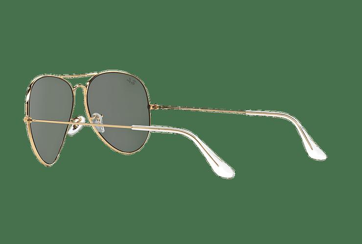 Ray Ban Aviador Gold lente Crystal Green cod. RB3026 L2846 62 - Image 4