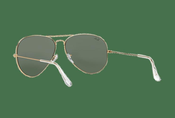 Ray Ban Aviador Gold lente Crystal Green cod. RB3026 L2846 62 - Image 5