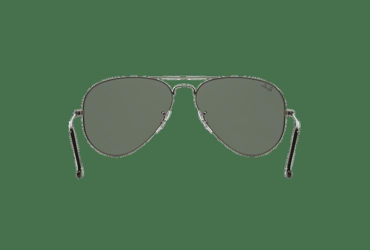 Ray Ban Aviador Gunmetal lente Green / Grey cod. RB3025 W0879 58 - Image 6