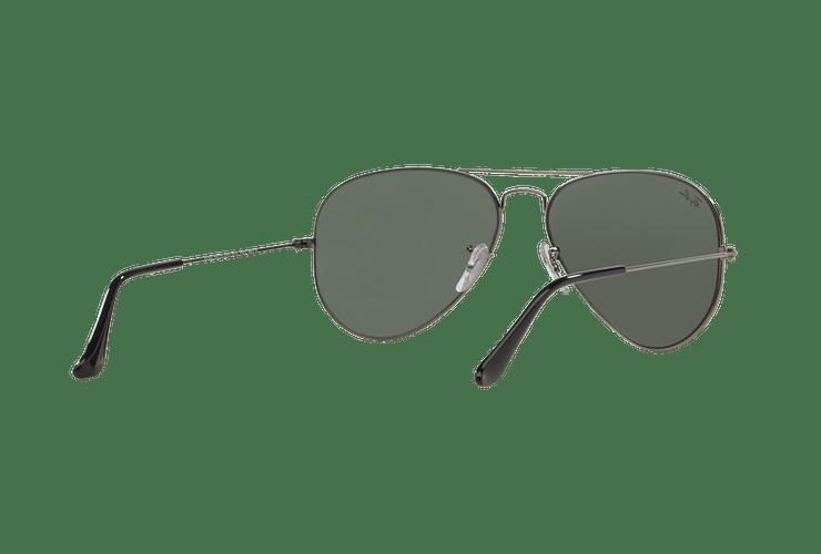 Ray Ban Aviador Gunmetal lente Green / Grey cod. RB3025 W0879 58 - Image 7
