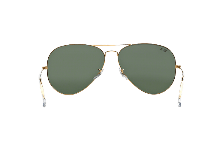 Ray Ban Aviador Gold lente Crystal Green cod. RB3026 L2846 62 - Image 6