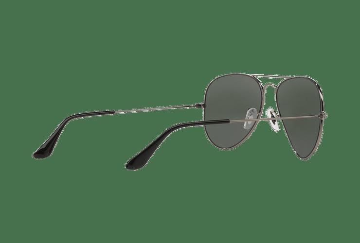 Ray Ban Aviador Gunmetal lente Green / Grey cod. RB3025 W0879 58 - Image 8