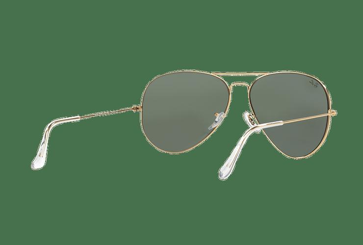 Ray Ban Aviador Gold lente Crystal Green cod. RB3026 L2846 62 - Image 7