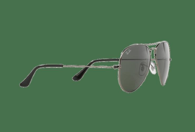 Ray Ban Aviador Gunmetal lente Green / Grey cod. RB3025 W0879 58 - Image 10
