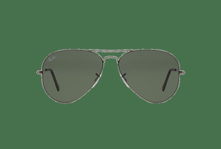 Ray Ban Aviador Gunmetal lente Green / Grey cod. RB3025 W0879 58 - Image 12