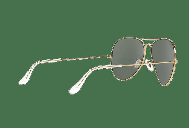 Ray Ban Aviador Gold lente Crystal Green cod. RB3026 L2846 62 - Image 8
