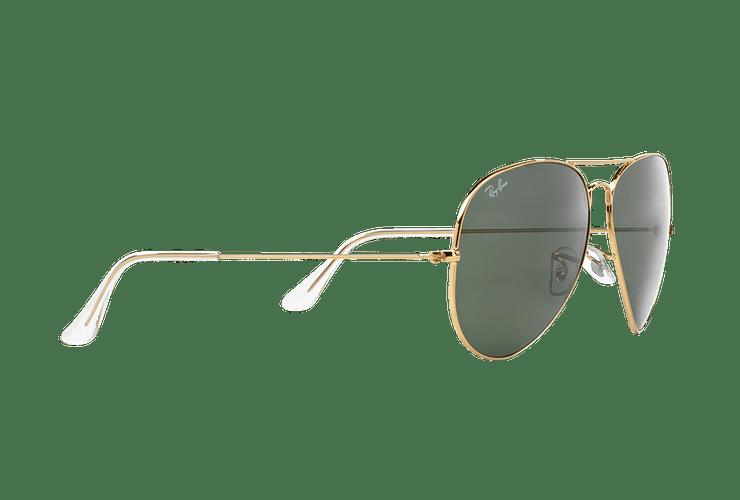 Ray Ban Aviador Gold lente Crystal Green cod. RB3026 L2846 62 - Image 10