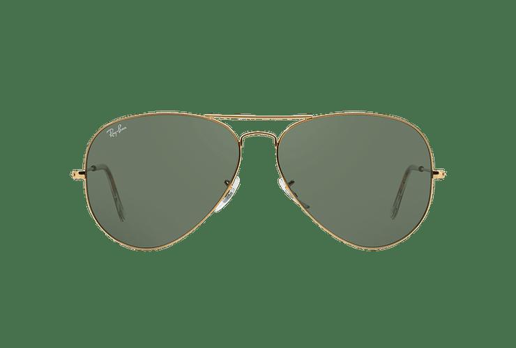 Ray Ban Aviador Gold lente Crystal Green cod. RB3026 L2846 62 - Image 12