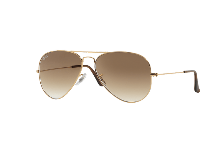 Ray Ban Aviador Gold lente Crystal Brown Gradient cod. RB3025 001/51 58 - Image 1