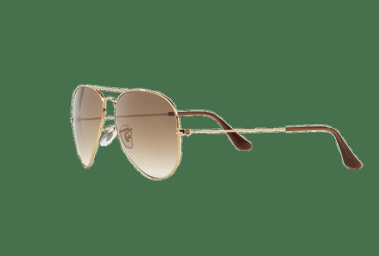 Ray Ban Aviador Gold lente Crystal Brown Gradient cod. RB3025 001/51 58 - Image 2