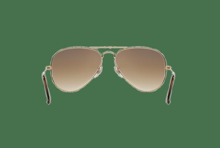 Ray Ban Aviador Gold lente Crystal Brown Gradient cod. RB3025 001/51 58 - Image 6