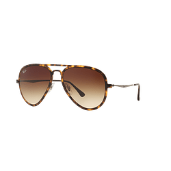Ray Ban Aviador Light Ray Li Brown Havana lente Gradient Brown cod. RB4211 894/13 56