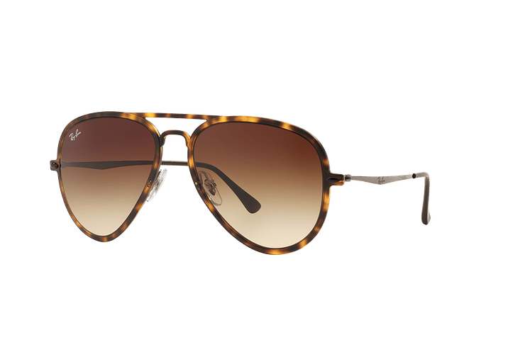 Ray Ban Aviador Light Ray Li Brown Havana lente Gradient Brown cod. RB4211 894/13 56 - Image 1