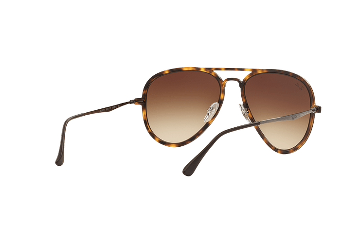 Ray Ban Aviador Light Ray Li Brown Havana lente Gradient Brown cod. RB4211 894/13 56 - Image 7