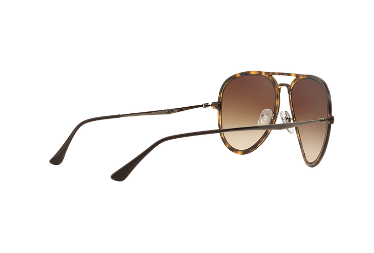 Ray Ban Aviador Light Ray Li Brown Havana lente Gradient Brown cod. RB4211 894/13 56 - Image 8