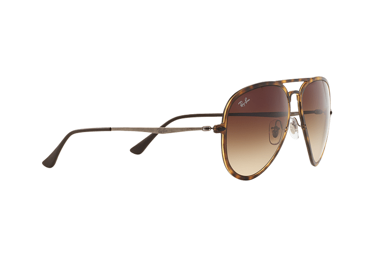 Ray Ban Aviador Light Ray Li Brown Havana lente Gradient Brown cod. RB4211 894/13 56 - Image 10