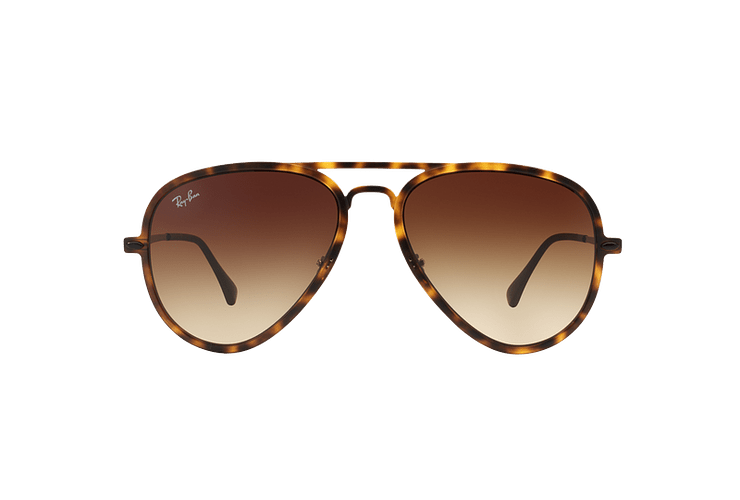 Ray Ban Aviador Light Ray Li Brown Havana lente Gradient Brown cod. RB4211 894/13 56 - Image 12