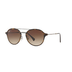 Ray Ban Round RB4287 Light Havana lente Brown Gradient cod. RB4287 710/13 55