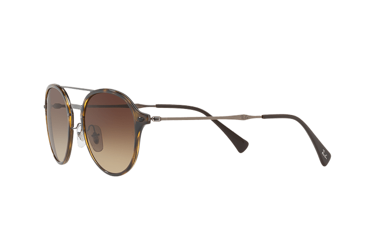 Ray Ban Round RB4287 Light Havana lente Brown Gradient cod. RB4287 710/13 55 - Image 2