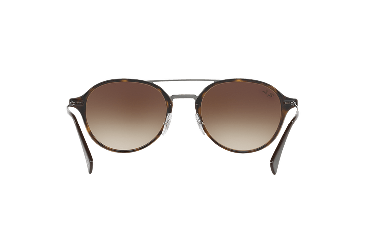 Ray Ban Round RB4287 Light Havana lente Brown Gradient cod. RB4287 710/13 55 - Image 6