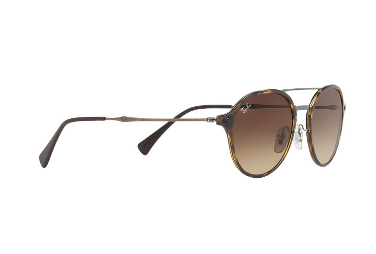 Ray Ban Round RB4287 Light Havana lente Brown Gradient cod. RB4287 710/13 55 - Image 10