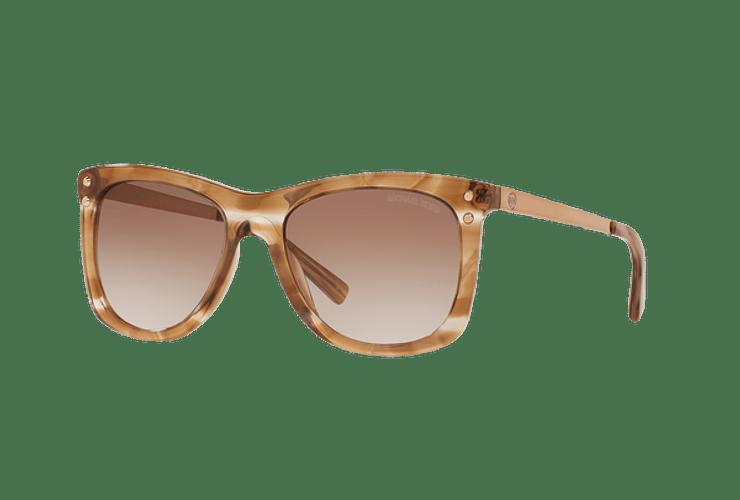 Michael Kors Lex Brown floral lente Brown peach gradient cod. MK2046 323913 54 - Image 1