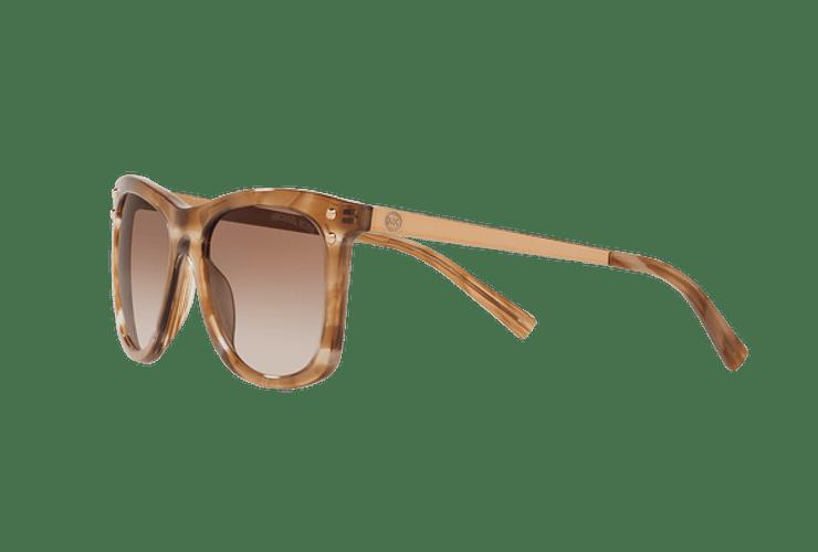 Michael Kors Lex Brown floral lente Brown peach gradient cod. MK2046 323913 54 - Image 2