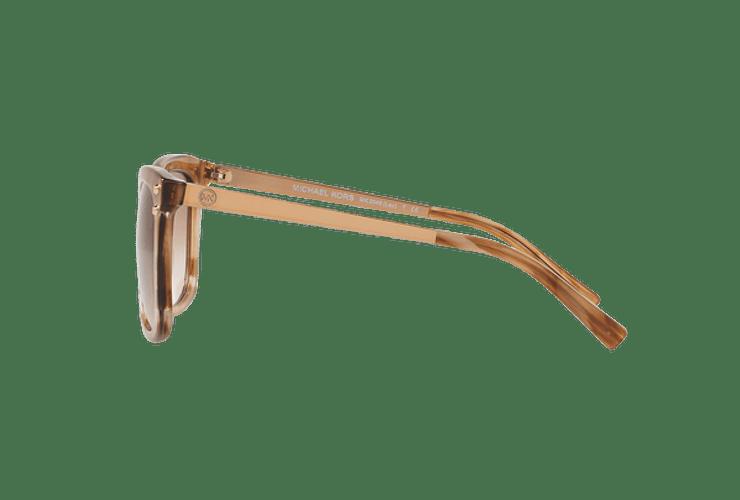 Michael Kors Lex Brown floral lente Brown peach gradient cod. MK2046 323913 54 - Image 3