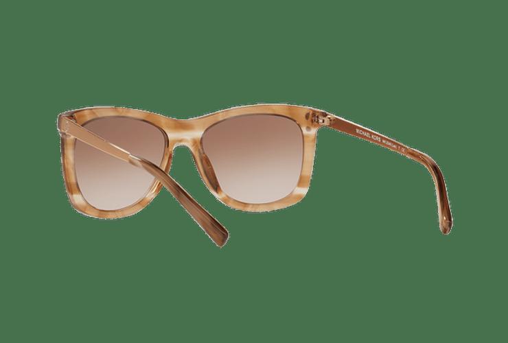 Michael Kors Lex Brown floral lente Brown peach gradient cod. MK2046 323913 54 - Image 5